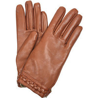 Mulberry Alexa leather gloves - Polyvore