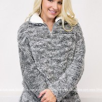 Candy Powder Fur Pullover   Colors