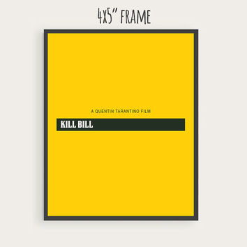 "SALE - Printable Kill Bill Movie Poster, Quentin Tarantino, Digital File Download, 4x5"" - 8x10"" - 12x15"" - 16x20"" - jpg format"