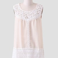 In The Moment Lace Blouse