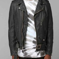Schott Beatdown Moto Leather Jacket
