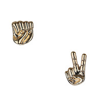Mismatch Hand Stud Earrings - Jewelry - Accessories - Topshop USA
