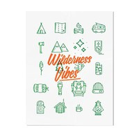 Wilderness Vibes Art Print