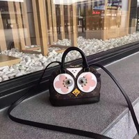 LV Louis Vuitton MONOGRAM CANVAS LOVE BIRD HANDBAG SHOULDER BAG