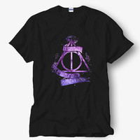 Harry Potter Deathly Hallows Symbol Shirt, White Shirt, Popular Shirt Hot Product On USA Size S-M-L-XL