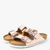 Birkenstock / Arizona in Copper Leather