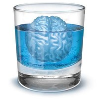 Cool Silicone Brain Freeze Shaped Ice Tray