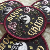 """Moon Goddess Market Original Moon Child Patch Pre-Orders! 3"""" Iron on patch"""