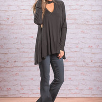 When I'm With You Top, Black