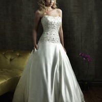 Allure Bridals 8807 Swarovski Crystal Embellished Wedding Dress