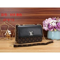 LV Louis Vuitton Women Fashion Leather Satchel Tote Shoulder Bag Handbag size:25*8*15