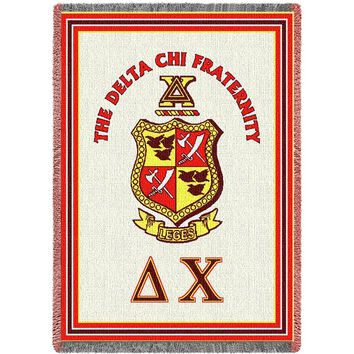 DELTA CHI AGHAN THROW BLANKET