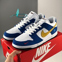 Nike new fashion retro low-top casual sports skateboard shoes