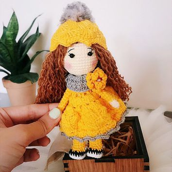 blythe doll dresses crochet / doll outfit - YouTube | 354x354