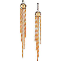 Marc by Marc Jacobs - Cabochon Fringe Two-Tone Earrings - Saks Fifth Avenue Mobile