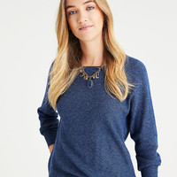 AEO Layer-Perfect Lightweight Sweater, Pink