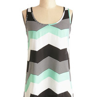 Jack by BB Dakota Mid-length Tank top (2 thick straps) Shoppin' in Chi-Town Top
