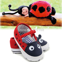 Little Ladybug baby boys girls first walkers bebe infant kids toddler shoes cute children soft sole baby shoes slippers