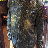 Jordan Craig Washed Denim Button Down 2521