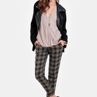 Undiscovered Terrain Plaid Trousers