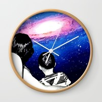 WIDESCOPIC Wall Clock by Chrisb Marquez