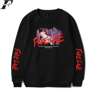 KPOP BTS Bangtan Boys Army LUCKYFRIDAYF FAKE LOVE Sweatshirt Hoodies  Women/Men Long Sleeve Plus Size Style Hoodies Sweatshirt Clothes Women/Men Casual AT_89_10