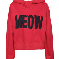 Red Meow Hoodie
