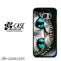 Alice In Wonderland Cat Chesire Disney DEAL-511 Samsung Phonecase Cover For Samsung Galaxy S7 / S7 Edge