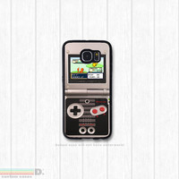 Gameboy Advance SP, Custom Phone Case for Galaxy S4, S5, S6