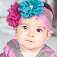 Giggle Moon-Golden Crown Knit Headband  (size Infant)