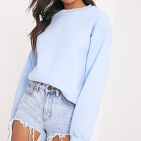 Ultimate Light Blue Crew Neck Sweater