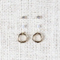 Multi-Hoop Earrings Set