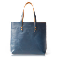 Vintage Tote Bag - Blue