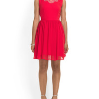 Juniors Bejeweled Neck Dress - Dresses & Skirts - T.J.Maxx