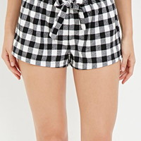 Buffalo Plaid PJ Shorts