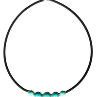Magnetic Turquoise Choker