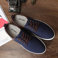 Mens Casual Lace Sneakers