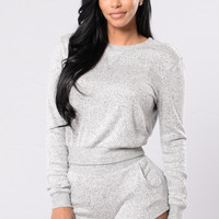 Simply Irresistible Top - Grey
