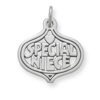 """Special Niece"" Charm 