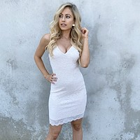 Loving Lace Ivory Dress