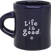 Life is Good Multi Flowers Cup & Straw
