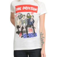 One Direction Scribbles Girls T-Shirt
