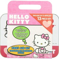Hello Kitty 13 Piece First Aid Kit
