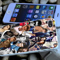 justin bieber collage iPhone 4 4S iPhone 5 5S 5C and Samsung Galaxy S3 S4 Case