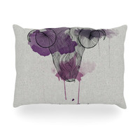 "Belinda Gillies ""Aries"" Oblong Pillow"