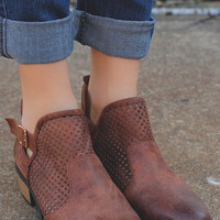 Fearless Traveler Booties - Brown