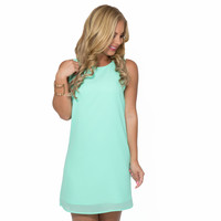 Simple Kind Of Love Shift Dress In Mint