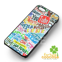Youtube Funny Collage -1nnya for iPhone 4/4S/5/5S/5C/6/ 6+,samsung S3/S4/S5,S6 Regular,S6 edge,samsung note 3/4
