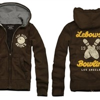 Big Lebowski Dude Bowling Hoodie and more fun Movies Sweatshirts and Hoodies available from OldSchoolTees.com