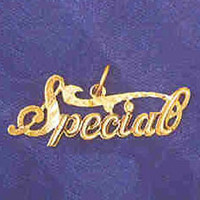 14K GOLD SAYING CHARM - SPECIAL #10260